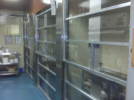 Micro Isolator doors Clear
