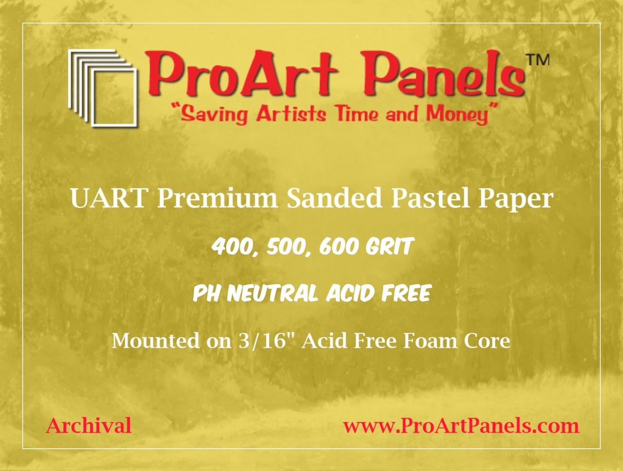 UART 9 x 12 Premium Mounted Board Grade #600