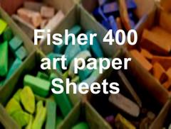 "Fisher 400 Art Paper roll 5 YD X 27"""