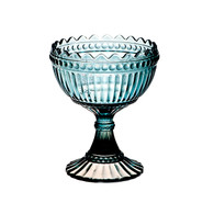 Handblown Turquoise Glass Vase