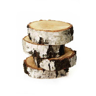 Wood Block Natural Coasters