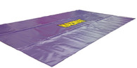 Purple Haz Mat staging mat