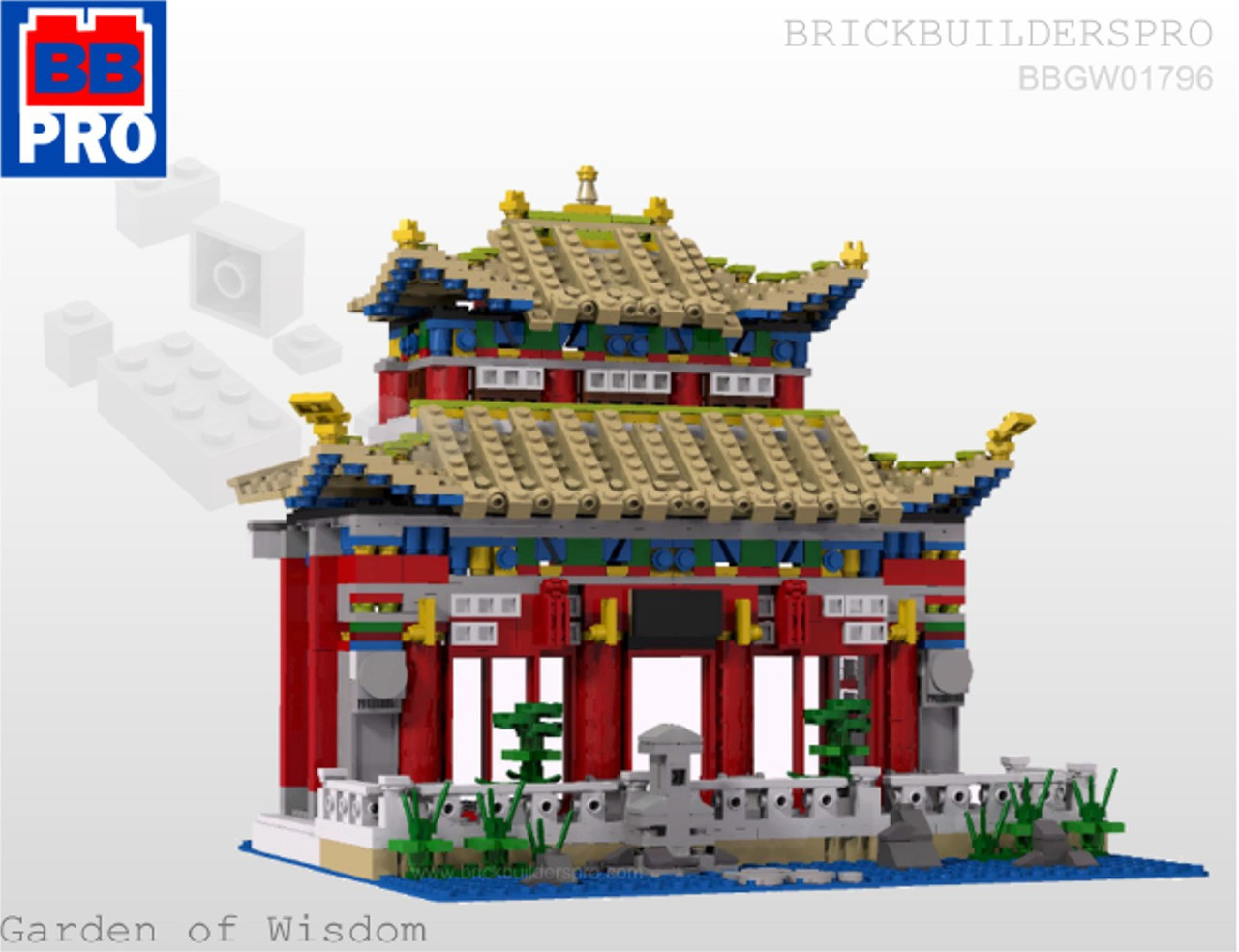 Lego Chinese Temple