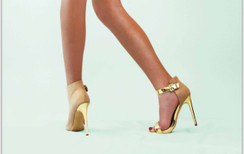 C Label Olive 6 Nude Pumps