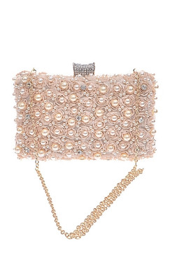 Classic Pearl Special Occasion Clutch