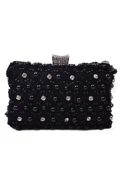 Black Special Occasion Clutch