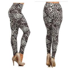 Leopard Love High Waist Leggings