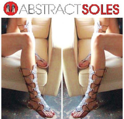 Luichiny Crown Me Snake Sandals
