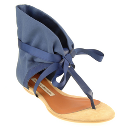 Chinese Laundry Navy Blue Sudoku Sandals
