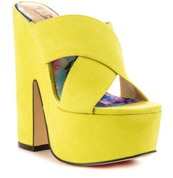 Luichiny Neon Yellow Brad Shaw Sandals