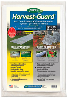 Harvest Guard - Seed Germination and Garden Protection.  Coverage 1.5m X 7.6m