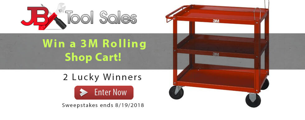 JB 3M Rolling Cart Giveaway