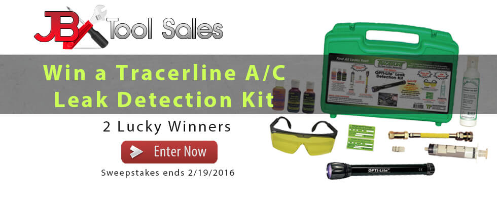 Find every leak by winning our Tracerline Giveaway