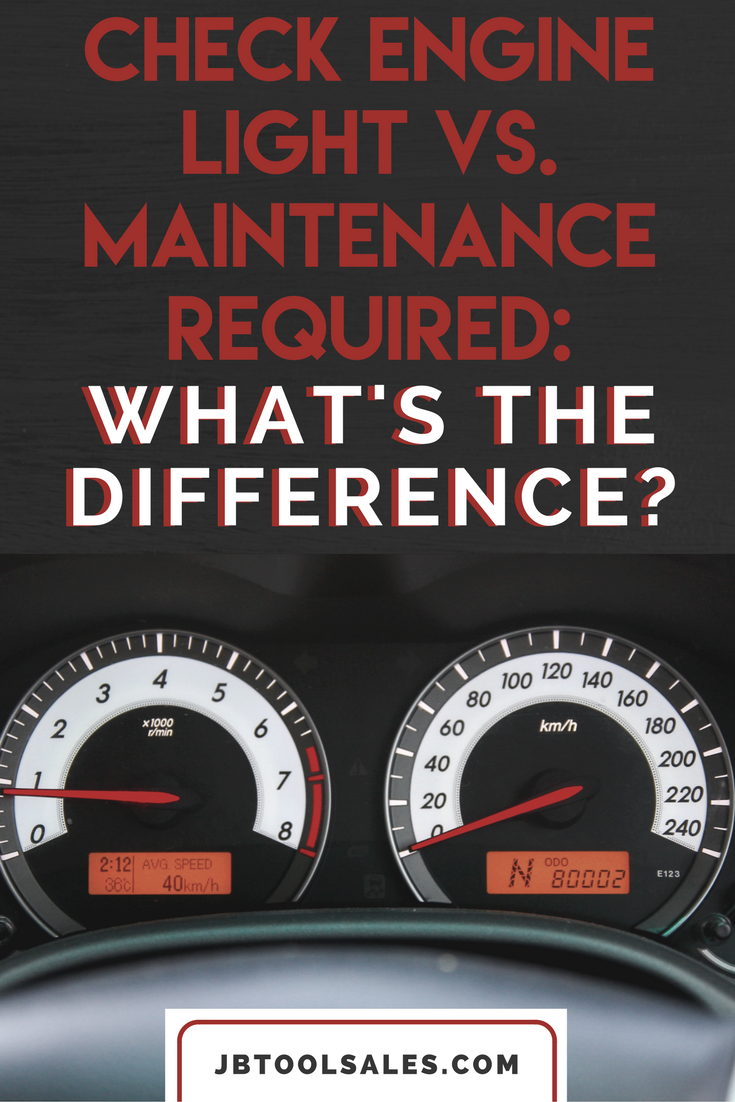 Prius Maintenance Required Light Check Engine Light Vs Maintenance Required  What S The Difference . Prius Maintenance Required Light ...
