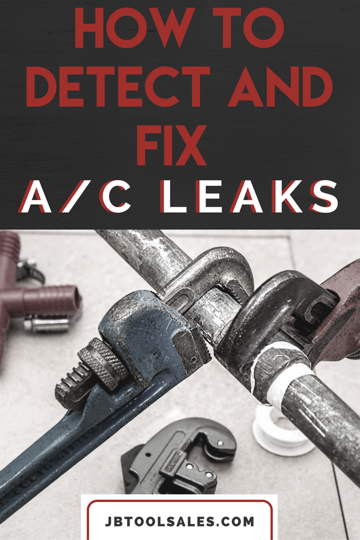 Car Remote Battery Replacement >> How to Detect and Fix AC Leaks In Your Car - JB Tool Sales ...