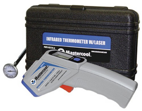Mastercool 52224ASP Infra Red Temp Gun With Pocket Thermometer