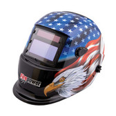 Firepower 1441-0087 Auto Dark Welding Helmet Stars & Stripes Eagle