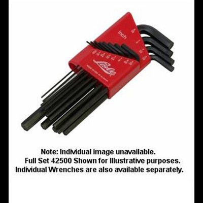 "Lisle 42570 Hex Key Wrench 9/64"", Long Arm"