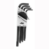 Lisle 42650 Hex Key Wrench Set 9 Piece, 1.5mm to 10mm