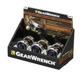 Gearwrench 81280P6 Gimbal Ratchet Merchandiser 6-Pc