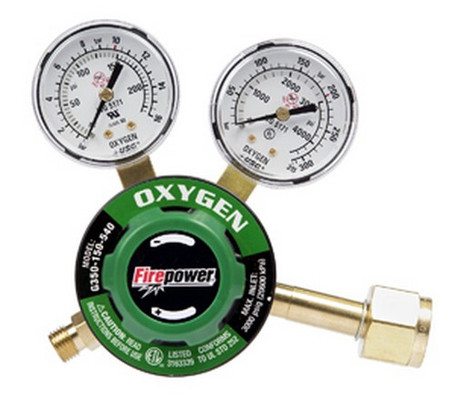 Firepower 0781-9829 350-540C Oxygen Regulator