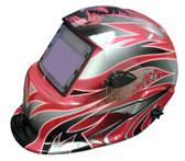 Titan Tools 41267 Solar Powered Auto Dark Welding Helmet (Swoosh)