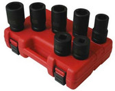 Sunex Tools 5697M 7 Piece Deep Metric Impact Socket Set