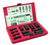 Ken Tool 30171 13 Piece Deluxe Lug Wheel Lock Removal Set