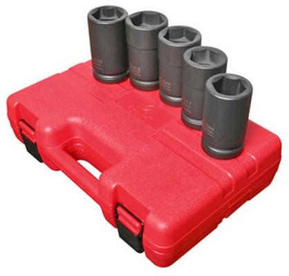 "Sunex Tools 5626 5 Pc. 1"" Drive Budd Wheel Socket Set"
