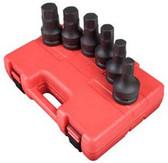 "Sunex Tools 5606 6 Piece 1"" Drive Sae Hex Driver Impact Set"