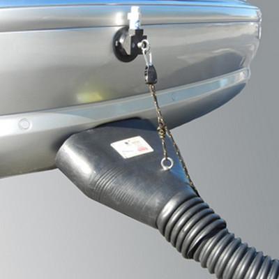 Crushproof F675SC Auto Hold Oval Exhaust Capture Adaptor