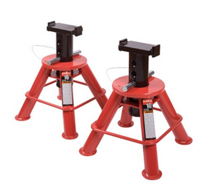 Sunex Tools 1210 10 Ton Low Height Pin Type Jack Stands (Pair)