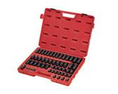 "Sunex Tools 3351 51 Piece 3/8"" Drive Metric Master Impact Socket Set"