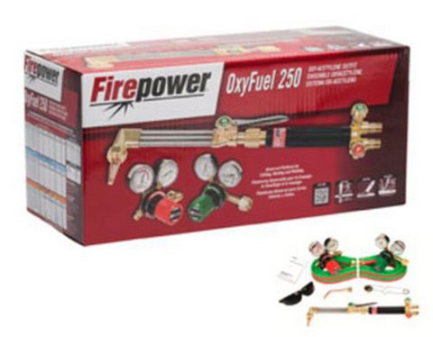 Firepower 0384-2571 250 Series OxyFuel Medium Duty Acetylene Outfit