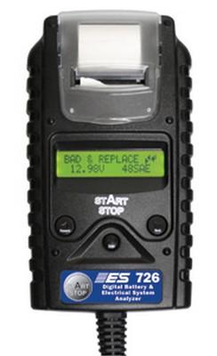 Electronic Specialties 726 Digital Battery & Electrical System Analyzer W/Printer
