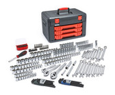 "Gearwrench 80940 219 Piece Mechanics Complete Tool Set 1/4 -1/2"" Drives"