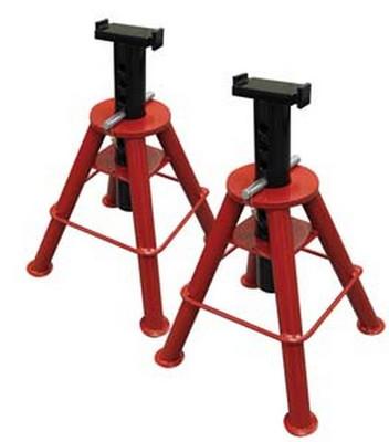 Sunex Tools 1310 10 Ton Medium Height Pin Type Jack Stands (Pair)
