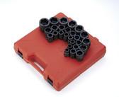 "Sunex Tools 4692 26 Piece 3/4"" Drive Metric Impact Socket Set"