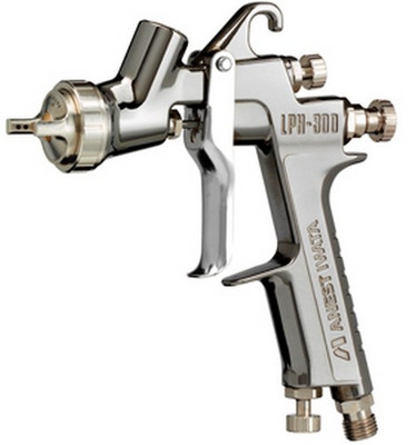 Aset Iwata 3955 Lph300 Spray Gun 1. 3 Low Volume Tulip Spray Pattern