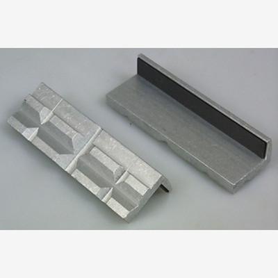 "Lisle 48000 Aluminum Vise Jaw Pads, 4"" Long"