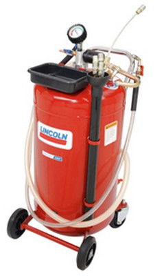 Lincoln Industrial 3637 25-Gallon Used Fluid Evacuator