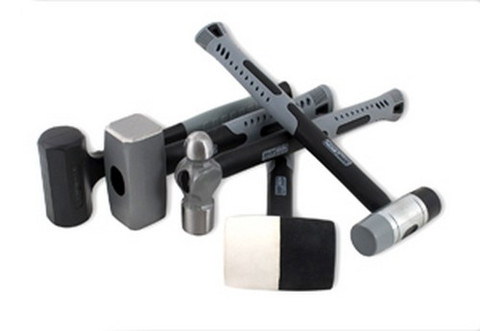Titan Tools 63126 5 Piece General Purpose Hammer Set