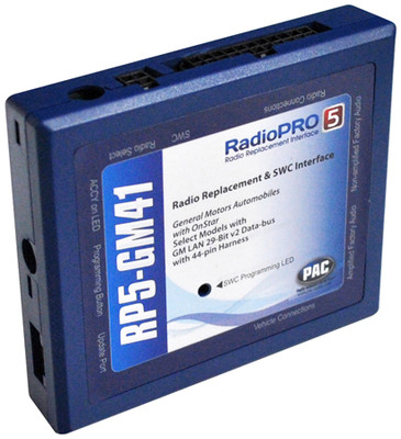 PAC RP5GM41 Radio Replacement Interface With Onstar Telematics 2012-13 Chevy Sonic/Spark