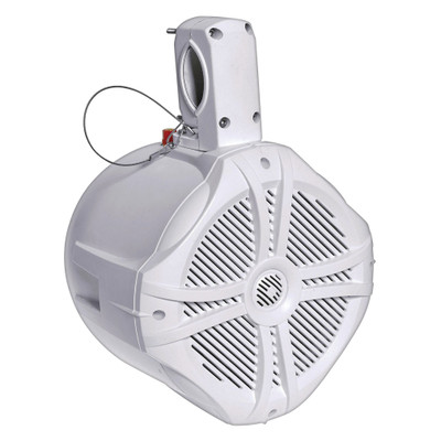 "Power Acoustik MWT65W Marine 6.5"" Wake Tower Speaker White Each"