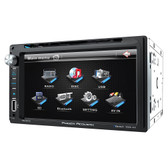 Power Acoustik PD651B Double Din Am/Fm/DVD/Bt 6.5""
