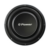 "Qpower QPF10DFLAT Deluxe 10"" Flat Subwoofer 1000W Max"