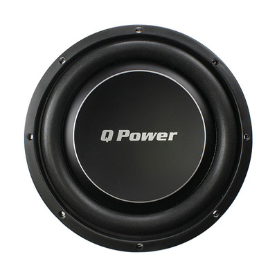 """Qpower QPF10DFLAT Deluxe 10"""" Flat Subwoofer 1000W Max"""
