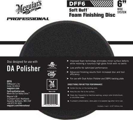 """Meguiars DFF6 6"""" DA Foam Finishing Disc"""