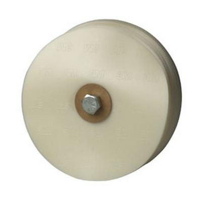 """3M 7517 Scotch-Brite™ Large Area Stripe Removal Disc, 8"""" x 5/8"""""""