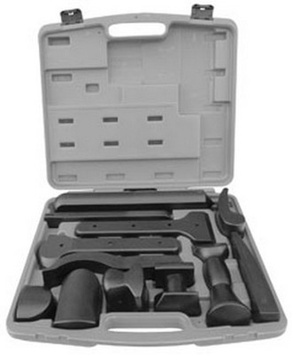 ATD Tools 4012 12Pc Pom Coated Dolly Set